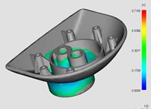 Moldflow flow simulations